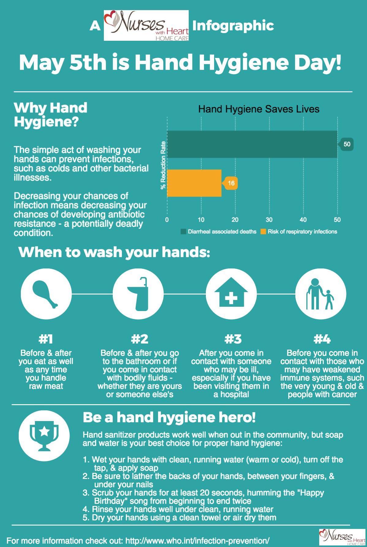 Hand Hygiene Infographic