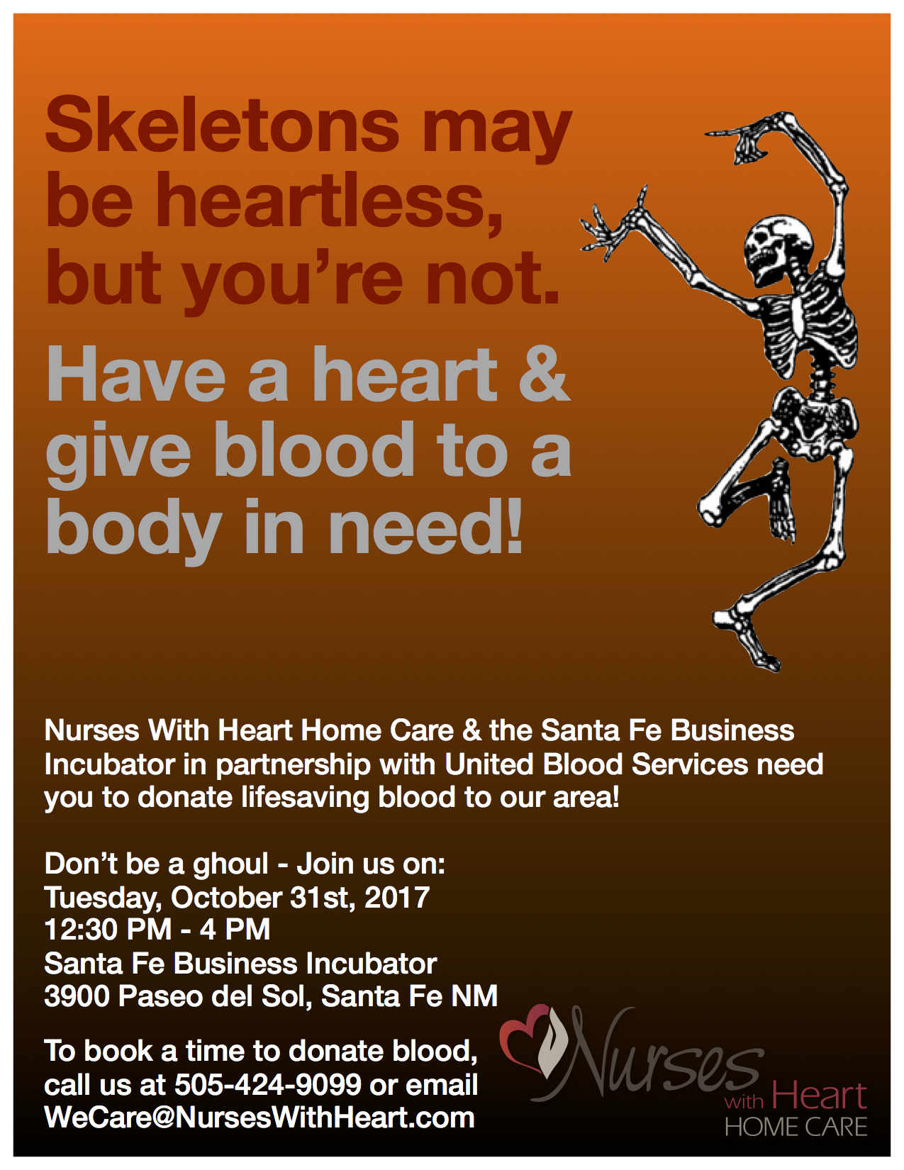 Join Nurses With Heart's 2017 Blood Drive!