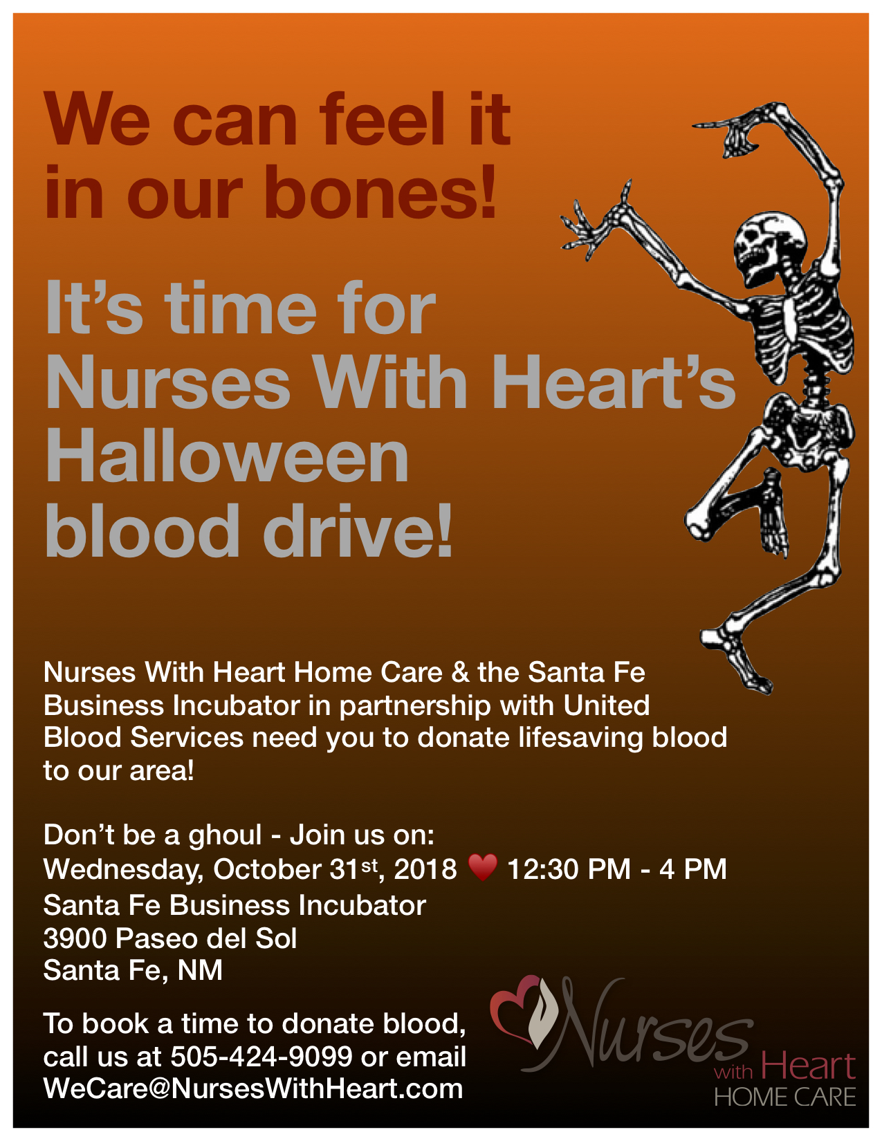 Halloween 2018 Blood Drive